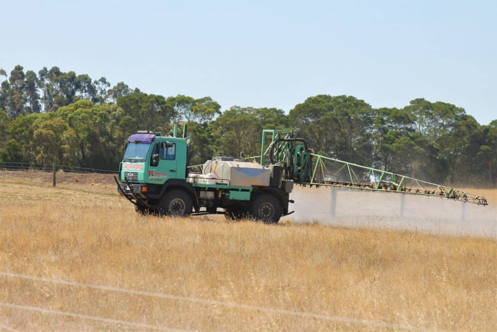 Kennedy Agricultural Spraying in action