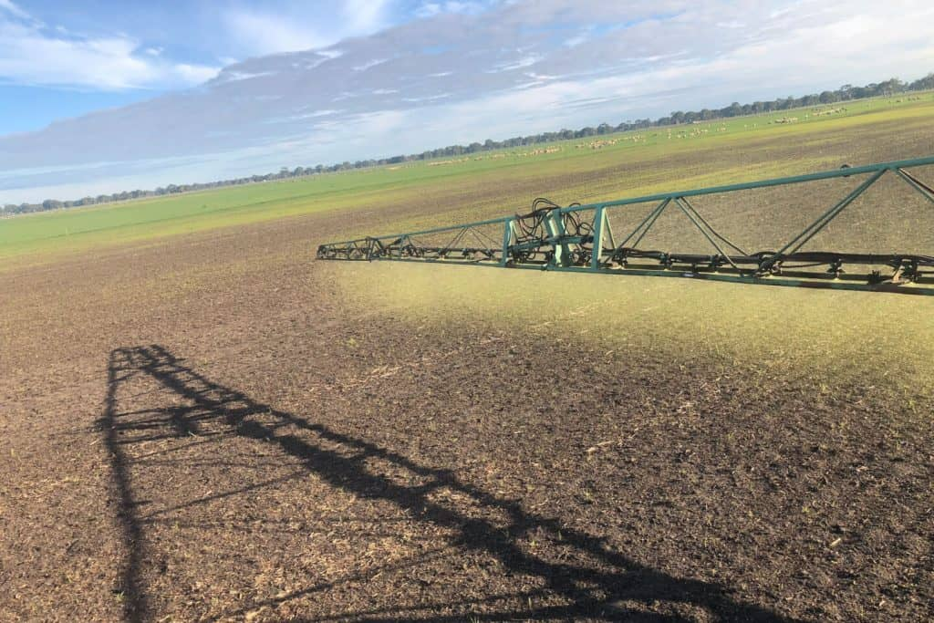 Kennedy Agricultural spraying